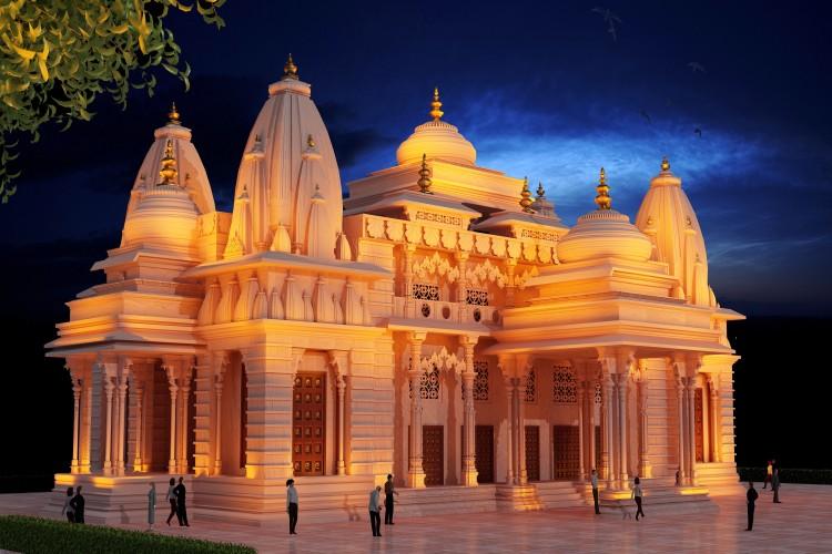 Construction of Krishna-Arjuna ISKCON Temple In Kurukshetra