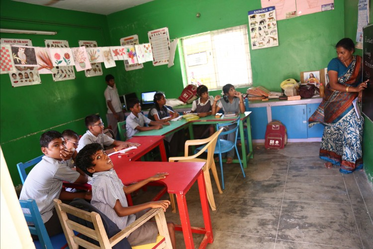 To empower and train the Mentally challenged children.