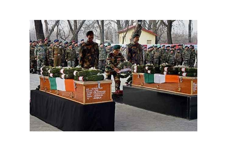 Platform to donate to families of martyred Indian soldiers.