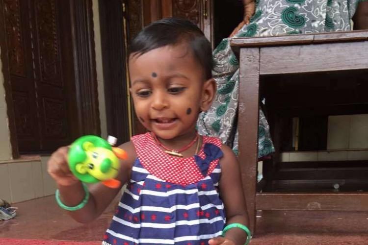 Krishnakumar's 17-month old daughter needs your urgent help