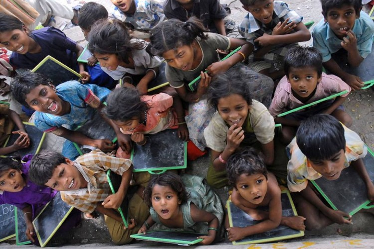 Every street kid deserves an education - You can help them get it!