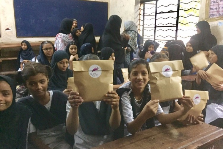 Help our organisation to donate free monthly sanitary kit