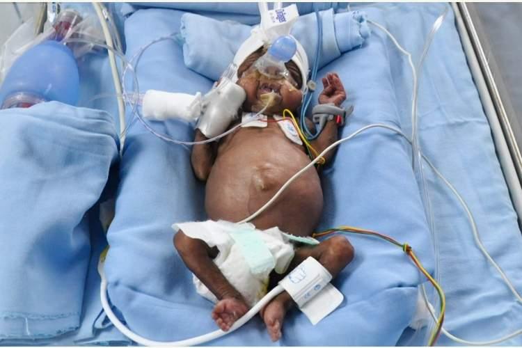 Baby of Sri Divya
