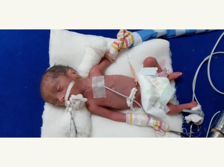 Baby of Poonam Singh