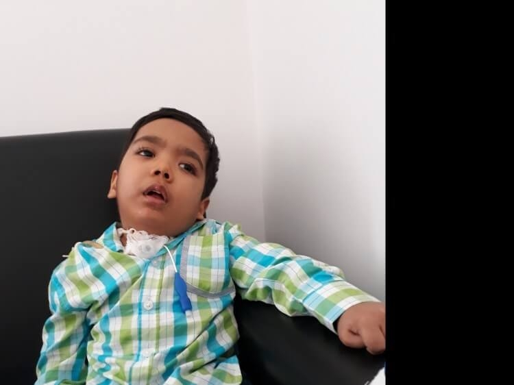 Help Neathan Dancy Henriques To Fight Cerebral Palsy