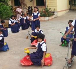 Help provide for visually impaired girl students