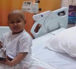 Strong little AADYA needs  help to fight blood cancer