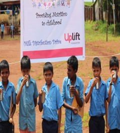 Help us provide milk to 400 children each day