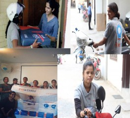 Wheels of life: Help us provide employment to women from underprivileged background  at Even Cargo