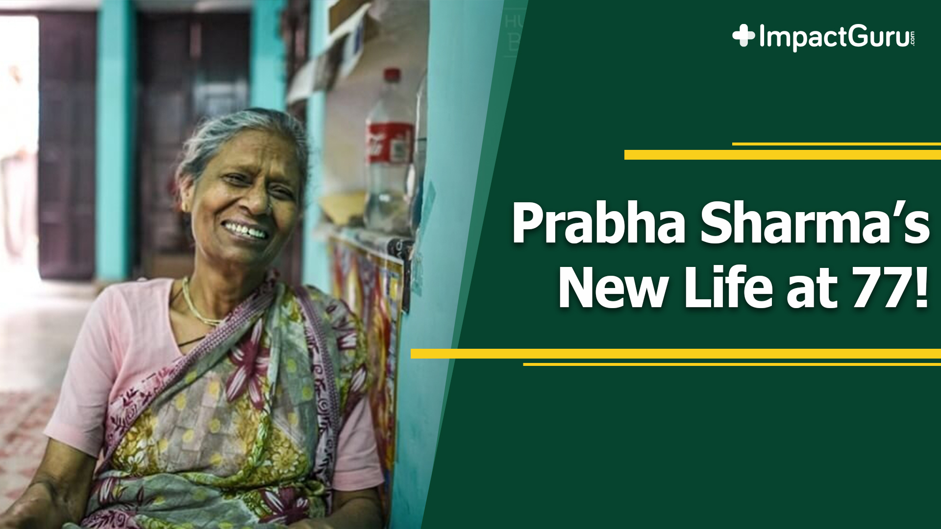 Prabha Sharma's New Life at 77!