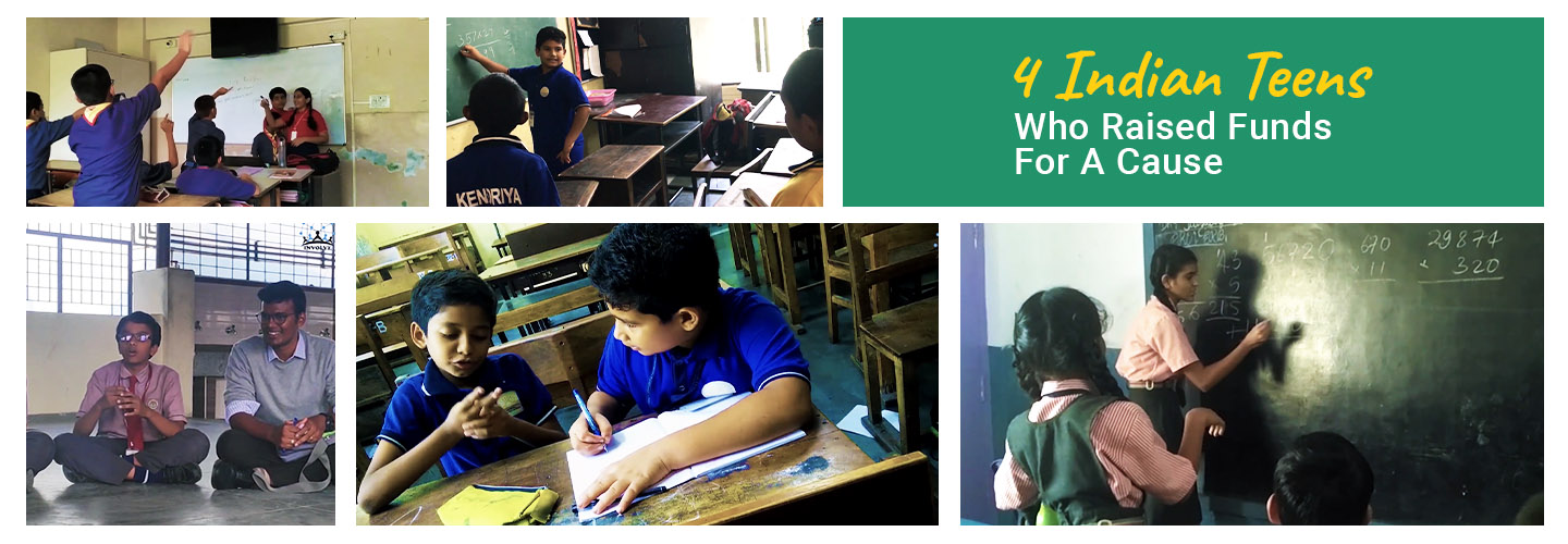 How 4 Indian Teenagers Used Crowdfunding To Make A Change