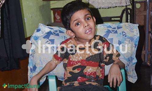 Atib Flying Kisses Impact Guru & Donors to Express his Gratitude