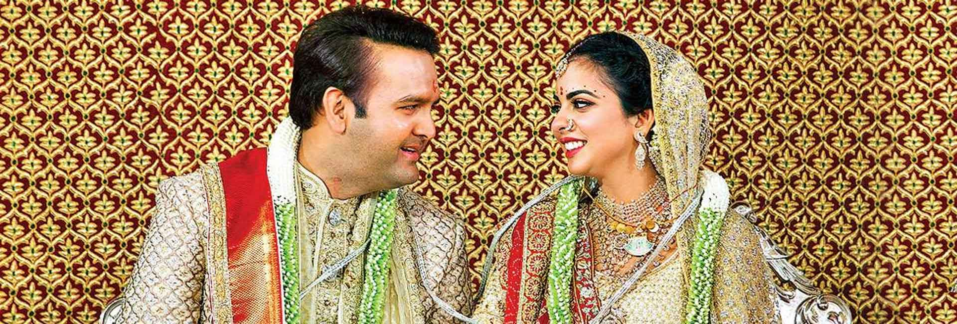 Know everything about - The Ambani - Piramal Wedding!