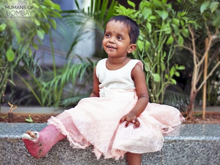 YOU helped little Arushi find her feet and how!