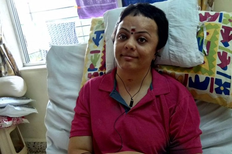 In Shobana's time of distress, crowdfunding sponsored her treatment