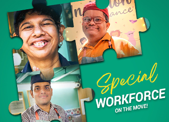 Meet the Differently-Abled Workforce of Café Arpan, Mumbai. Fundraising helped them thrive!
