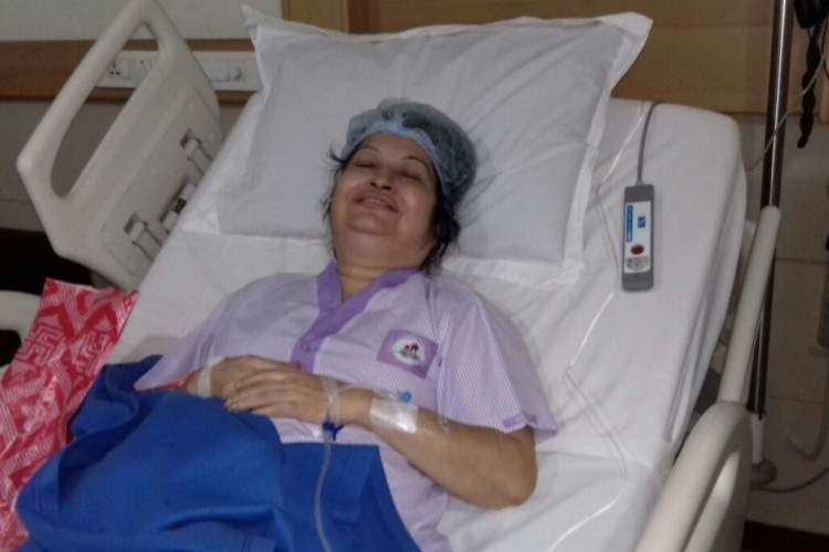 Your love helped 61-year-old Rina beat Kidney Transplant