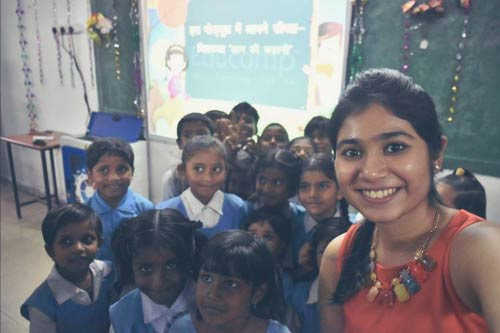 A Girl's Solo Endeavour to Impact the Lives of Students and Women in Bhopal