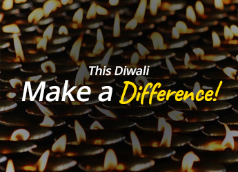 Make Diwali Special Twice - Light Up Someone's Life