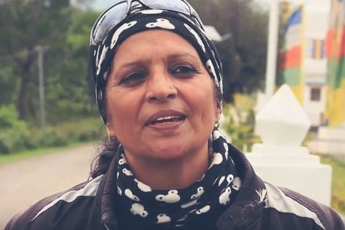 This Single Mother Rides From Kanyakumari to Kashmir