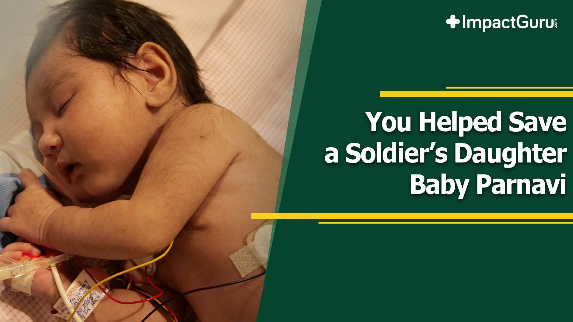 Generous Donors Save BSF Constable's Newborn, Baby Parnavi