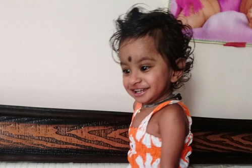 1-year-old Shradha's Heart Was Saved With Your Love