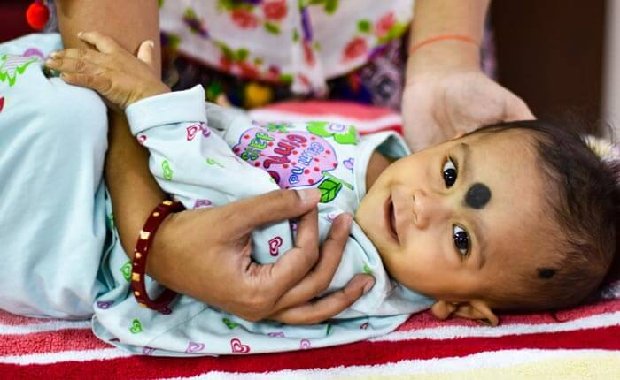 Your heart of generosity has saved Baby Aparajita's ailing heart