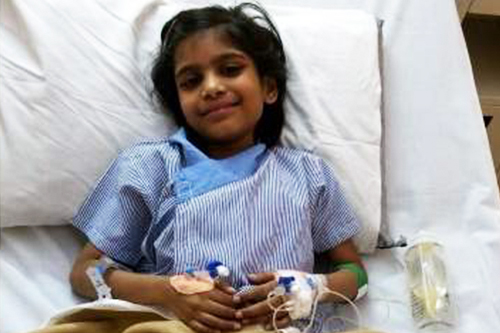8-year-old's ailing heart received love from hundreds across the globe