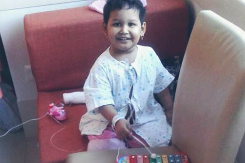 How Suresh Rescued his Little Daughter Aadya from Leukemia