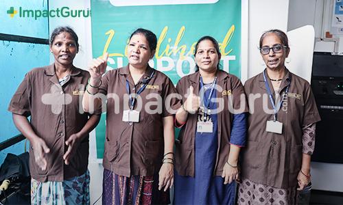 BSS Mahim+Impact Guru Foundation Stand by School Support Staff
